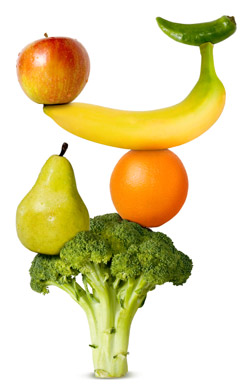 Fruits and vegetables picture